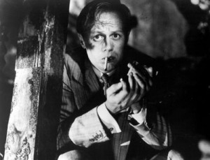 Richard Widmark, star of Pickup on South Street