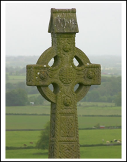 Celtic cross, a symbol of ancient Ireland
