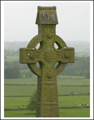Celtic cross, a symbol of ancient Ireland