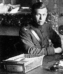 George C. Marshall in France