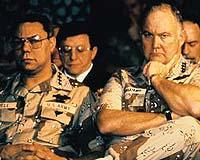 Colin Powell and Norman Schwarzkopf