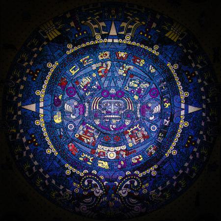 Maya calendar detail. Photo credit: Niciak