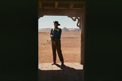 """Still from the finale of """"The Searchers"""""""