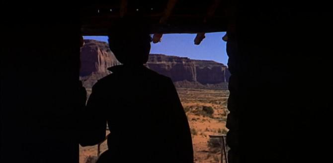 """A still from """"The Searchers"""""""
